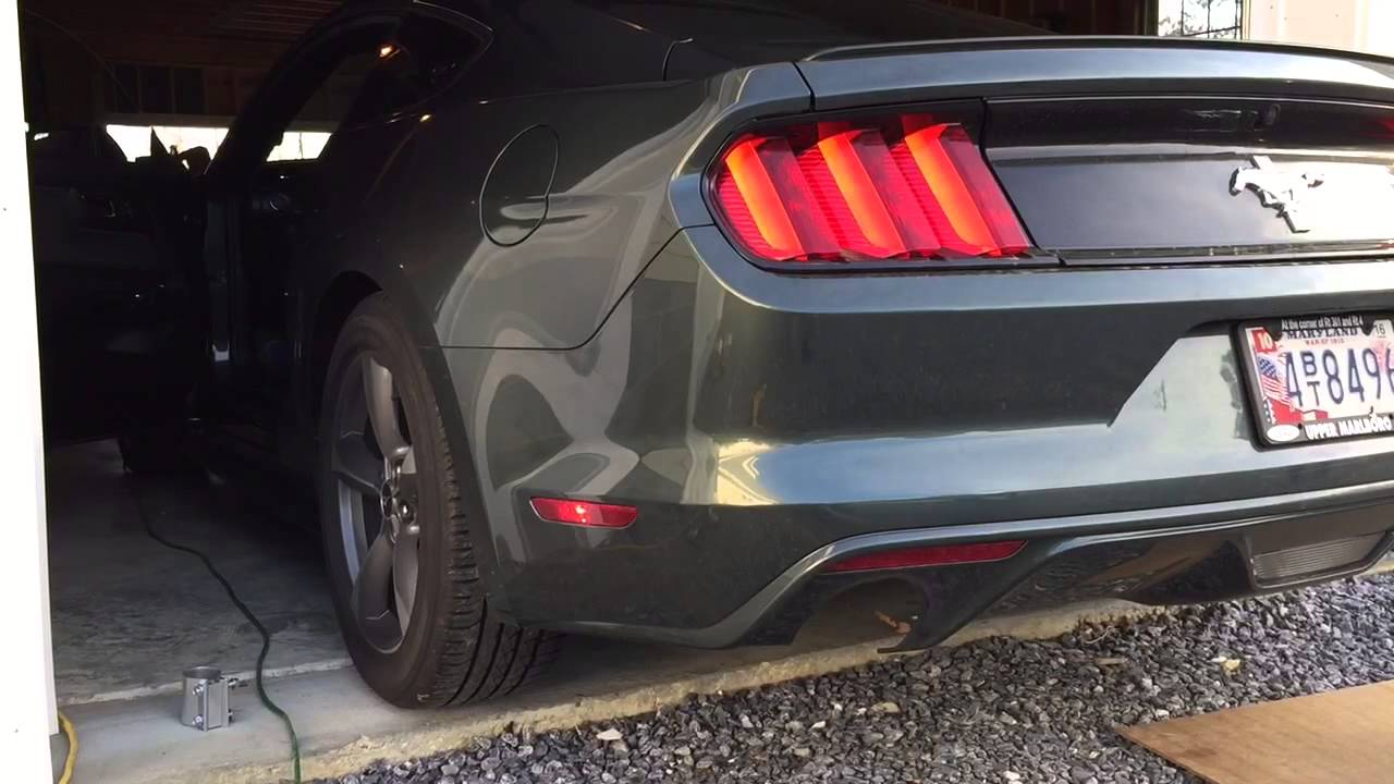 2015 mustang v6 exhaust sound clip