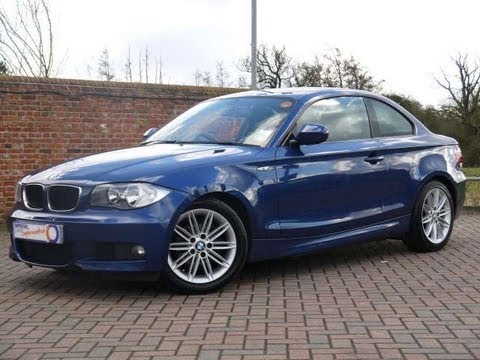 2010 bmw 120d m sport 177 coupe blue for sale in hampshire youtube. Black Bedroom Furniture Sets. Home Design Ideas