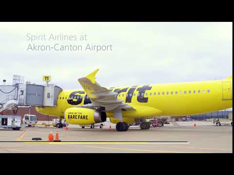 Spirit Airlines at CAK