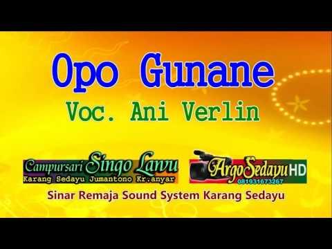 Dangdut Koplo Reggae OPO GUNANE Areva Music 2016