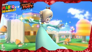 Super Mario 3D World for Switch ᴴᴰ Full Playthrough (All Green Stars & Stamps) Solo Rosalina