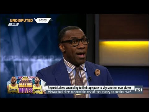 UNDISPUTED | Shannon Sharpe SURPRISED by Lakers scrambling to find cap space to sign a another star
