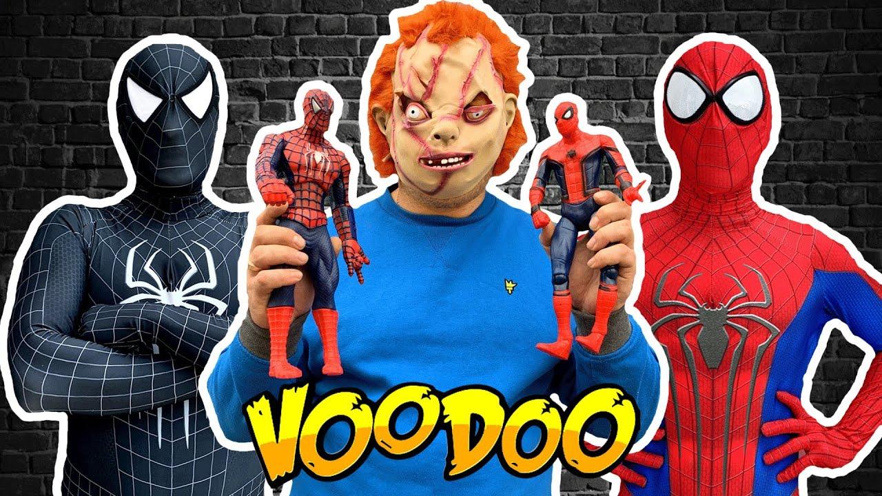 Chucky VS Team Spider-Man