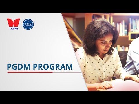 TAPMI's PGDM program