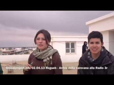 """02.04.13 - Tunisia - Radio 3r """"Regueb, Revolution, Renouveau"""""""