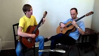 Denis Azabagic teaches Etude no 1 by Heitor Villa Lobos Lobos