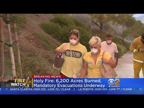 Arson-Sparked Holy Fire Explodes, More Than 20K People Forced To Flee