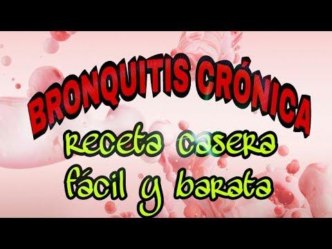 remedios caseros para curar la bronquitis cronica