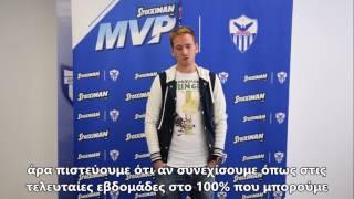 Stoiximan MVP Ράγιος