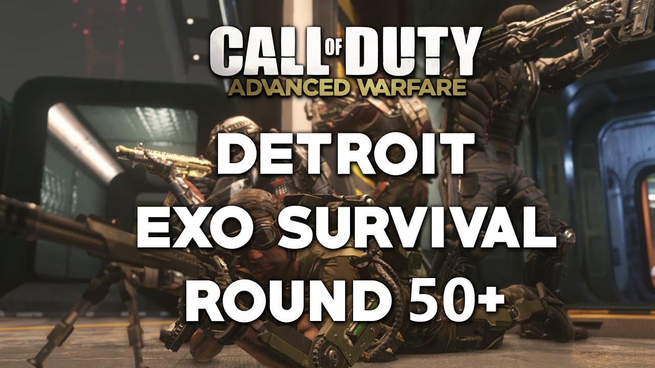 call of duty advanced warfare detroit exo survival wave