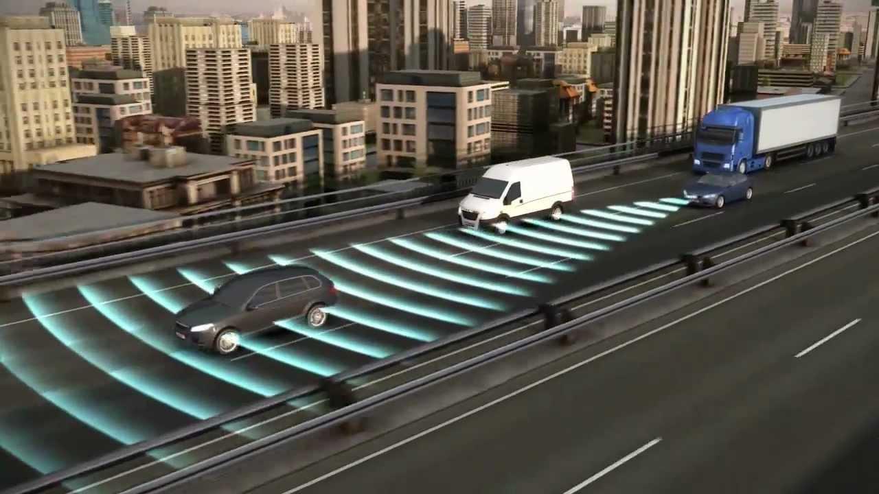 EN | Bosch Adaptive Cruise Control (ACC) - YouTube