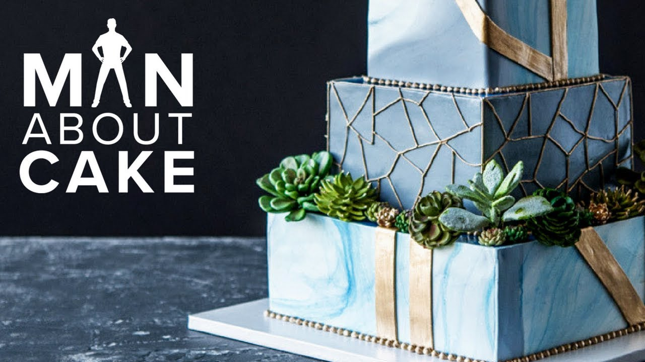 Succulent Wedding Cake FOR JAMES    Man About Cake with Joshua John     Succulent Wedding Cake FOR JAMES    Man About Cake with Joshua John Russell
