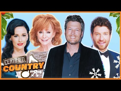 Country Christmas Countdown! Our 10 Favorite Songs from Blake Shelton, Reba McEntire and More