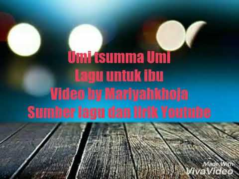Lyrics umi tsumma umi song dan terjemahan indonesia