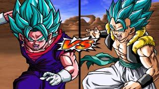 [Duel TAS] Vegito VS. Gogeta 5+ Rounds (Enhanced Red Potara) (Request Match)