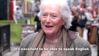 Is The Irish Language Important?  - Little Cinema Seachtain Na Gaeilge Vox Pop