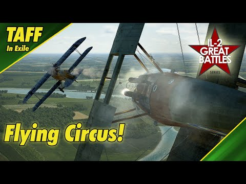 IL-2 Flying Circus || Spring Campaign || Ace in a Day!