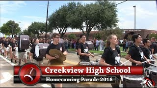 Creekview Homecoming Parade 2018