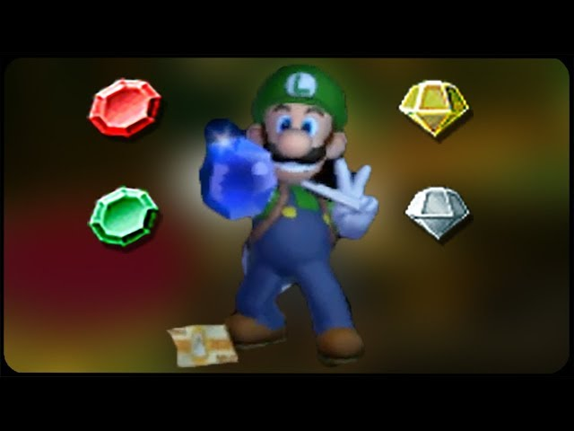 Luigi's Mansion 3DS - All Gems & Jewels Locations Guide