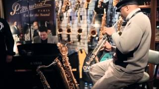 James Carter With P.Mauriat PMSS-64 DK In Mariachi Sax Boutique