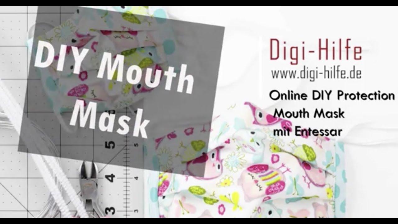 Digi-Hilfe: DIY-Mundschutz