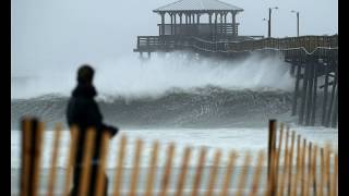 Hurricane Florence: outer bands cause surge and tidal floods in North Carolina, Cape Hatteras,