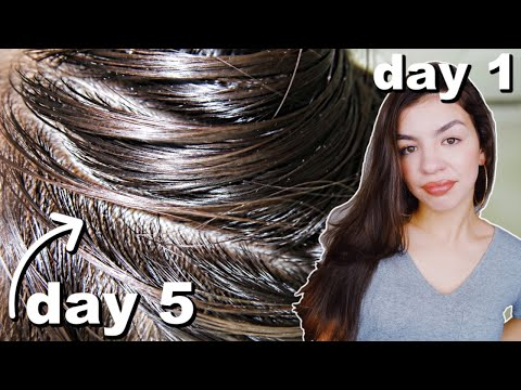 I Didn't Wash My Hair For One Week!