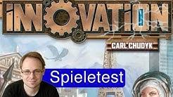 Innovation (Kartenspiel) / Anleitung & Rezension / SpieLama