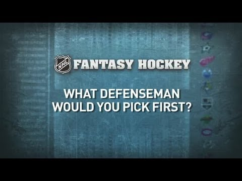 NHL Stars Pick Their Top Fantasy Defenseman