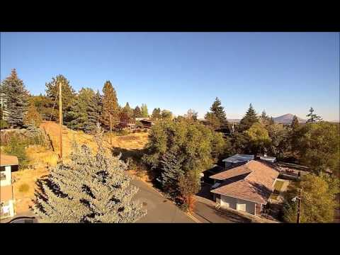 Drone's Eye View of Klamath Falls, Oregon