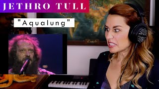 """Jethro Tull """"Aqualung"""" REACTION & ANALYSIS by Vocal Coach / Opera Singer"""