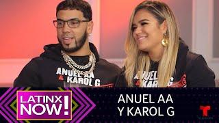 Anuel AA y Karol G: sus tatuajes de amor | Latinx Now | Entretenimiento