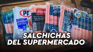 Probando y Comparando Salchichas del Supermercado. Caras, Intermedias y Económicas (Vienesas).