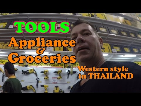 Finding Appliances, Tools, and some Western Grocery