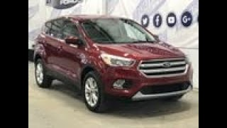 Pre-owned 2017 Ford Escape SE 200A W/ 1.5L EcoBoost, Cloth Overview | Boundary Ford