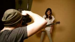 Behind the Scenes: Hannah Elless Photo Shoot