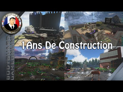 ARK Survival Evolved Construction De Deux Passionné Draco78 & Jerike Sur 1 Ans Magnifique Travail