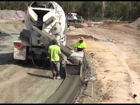 Ckc Pro Kerb Machine Youtube