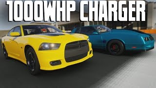2012 Dodge Charger SRT8 || 1000HP DRAG BUILD || Forza 6