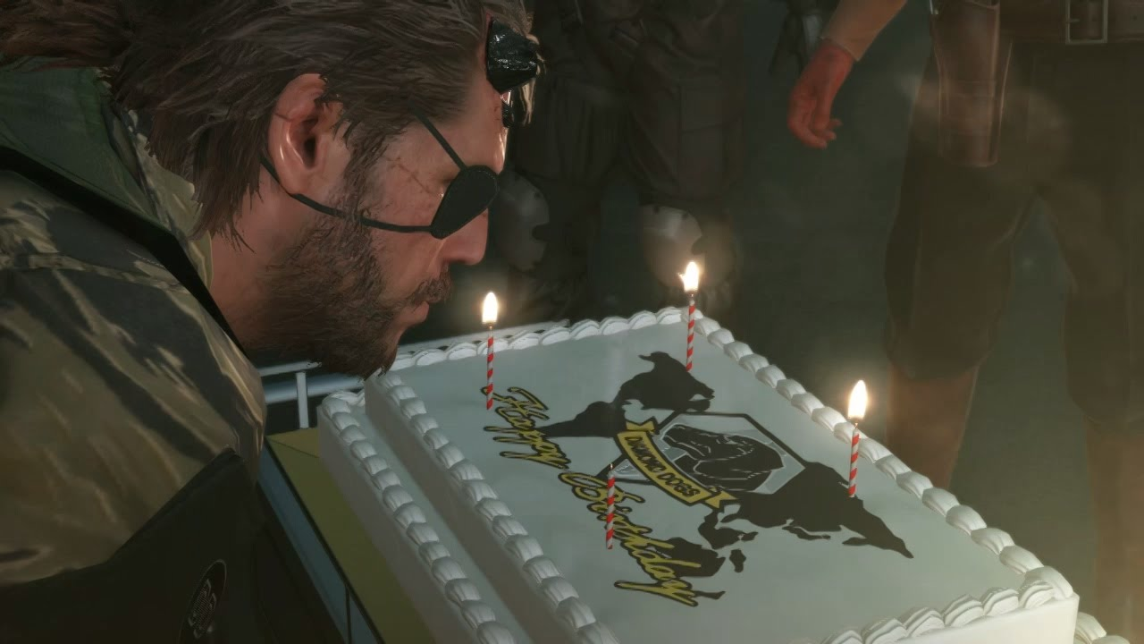 Image result for metal gear solid birthday