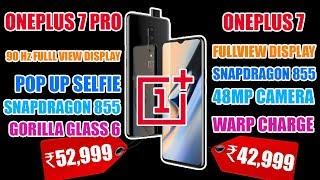 OnePlus 7 Pro, OnePlus 7 India Launch | Pop Selfie | 90Hz Display | 44 Watt Charging | 48 MP Camera