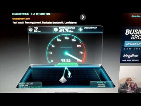 xfinity speed test iphone