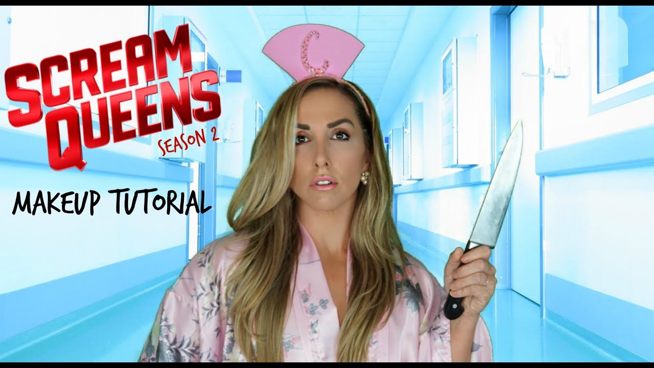 4f3efff456895 SCREAM QUEENS | SEASON 2 | PROMO| MAKEUP TUTORIAL - YouTube