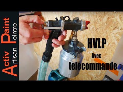 pistolet peinture basse pression turbine hvlp rigo youtube