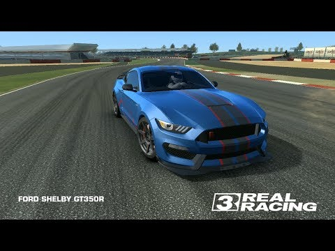Real Racing 3 Ford Shelby Gt 350 R Race Sirkuit Catalunya