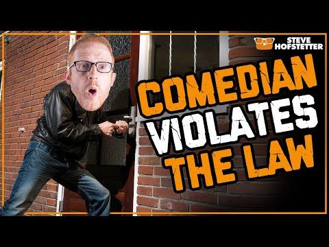 Comedian breaks Ireland