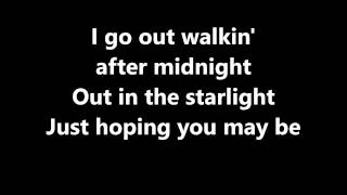 Lyrics~Walkin