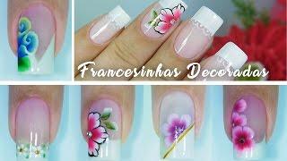 5 Francesinhas Decoradas com Flor Fácil,Carga Dupla e One Stroke | Aline Makelyne thumbnail
