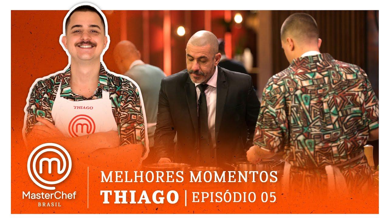 MELHORES MOMENTOS com Thiago Monteiro | MASTERCHEF BRASIL | EP 05 | TEMP 07