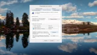 Windows 8 Tips Trucos Secretos  - 63 Crear Punto de Restauración Regresar a Estado Anterior